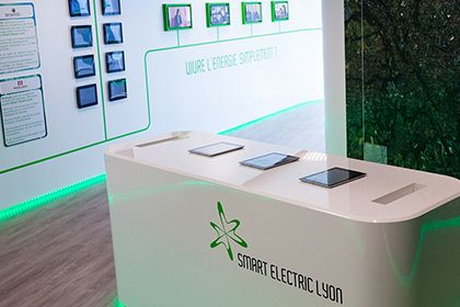 SMART ELECTRIC LYON / EDF Showroom