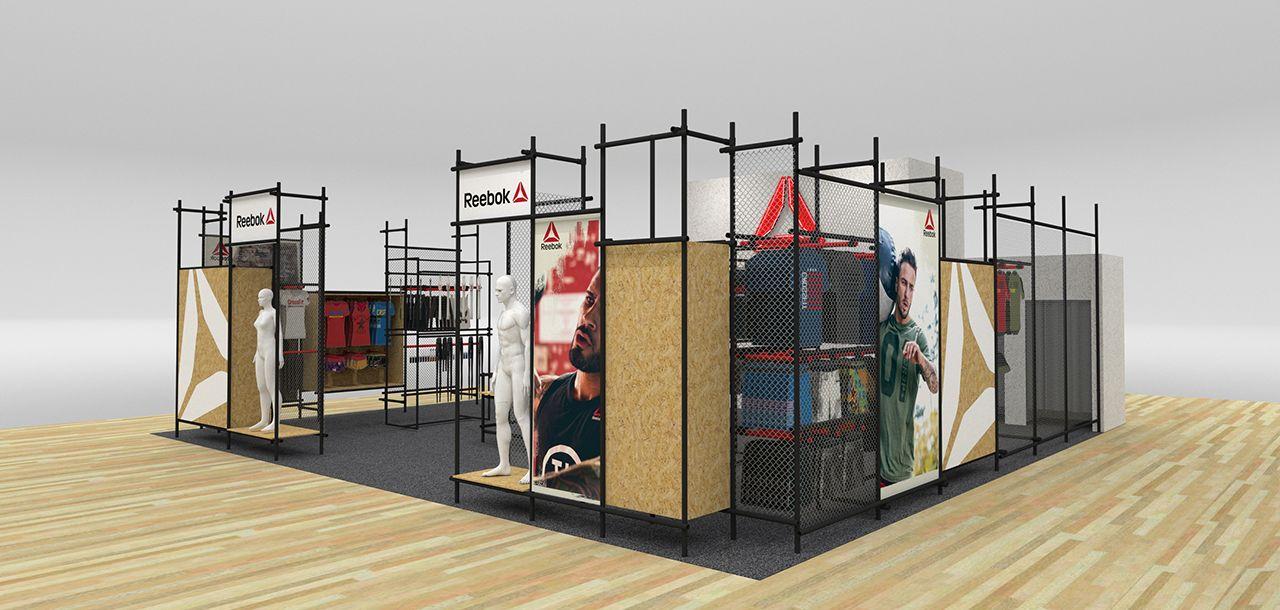 9b2eea571b0 Reebok - agence de stand et retail design - Mission
